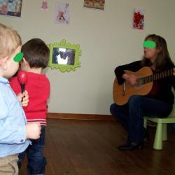Animation musicale avec la compagnie Les petits bruits