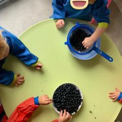 fabrication de notre jus de raisins
