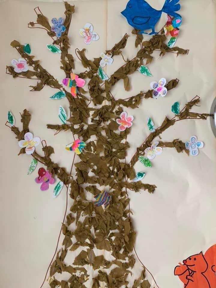 Notre arbre de printemps