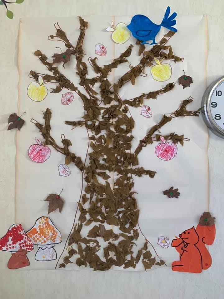 Notre arbre d'automne
